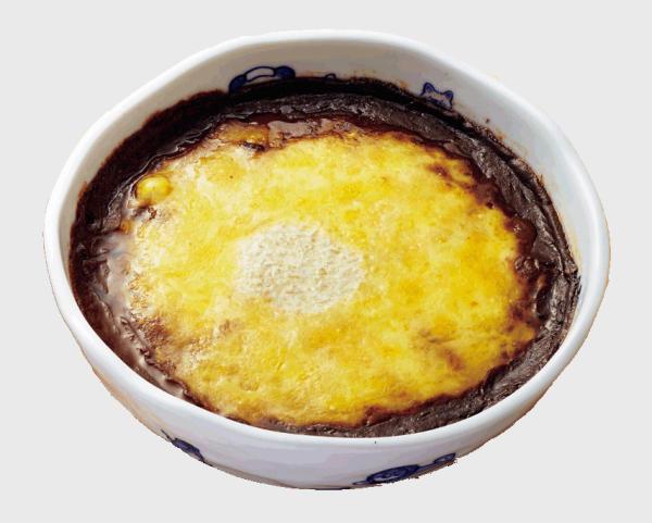 有田焼カレー 三種のチーズ盛り